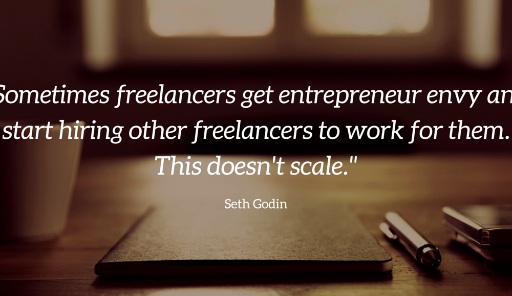 Seth Godin on the Difference Between a Freelancer and an Entrepreneur