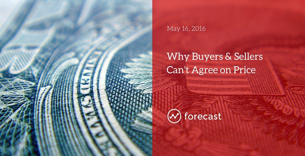 Why Buyers and Sellers Can Never Seem to Agree on Price
