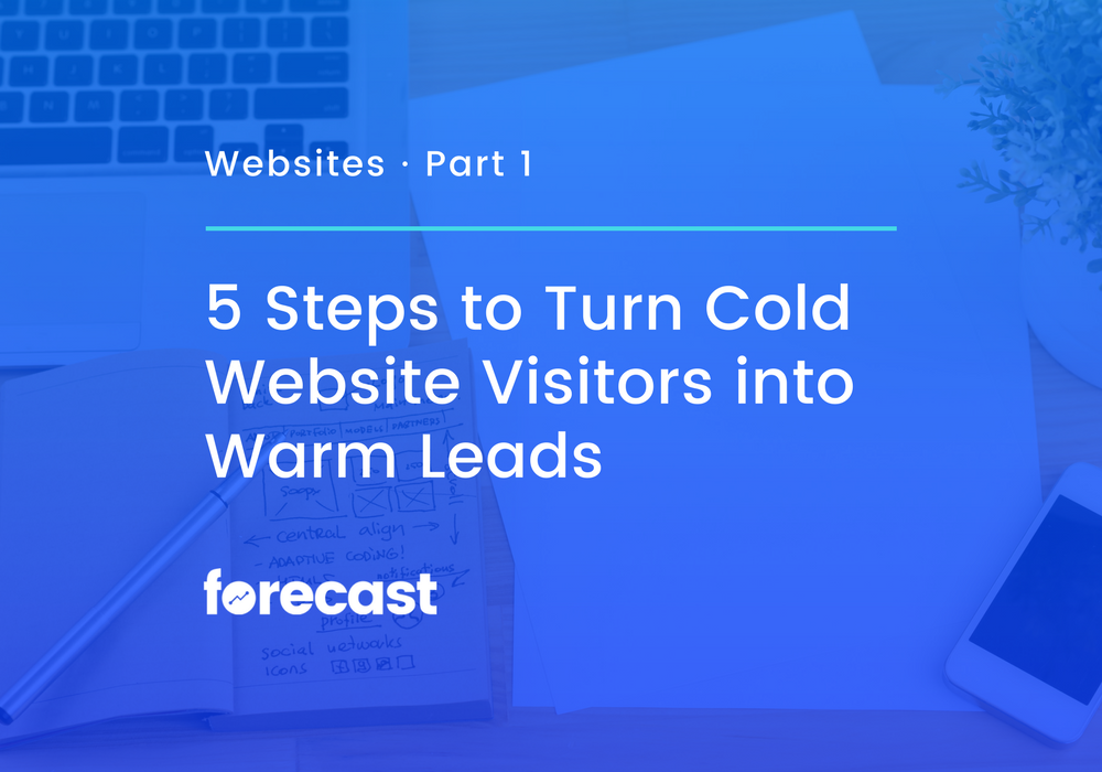 5 Steps to Turn Cold Website Visitors into Warm Leads
