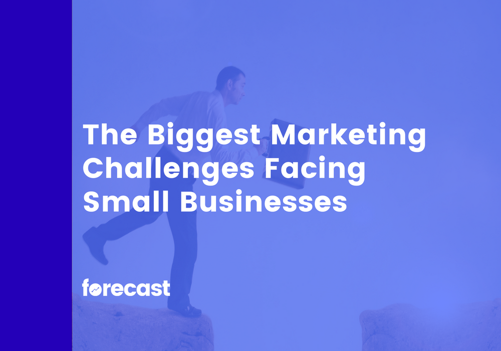 The Biggest Marketing Challenges Facing  Small Businesses