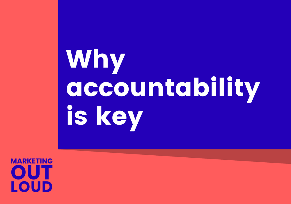 Why accountability is key