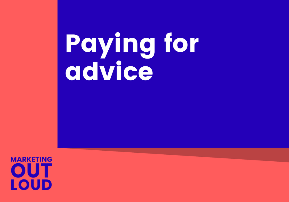 Paying for advice