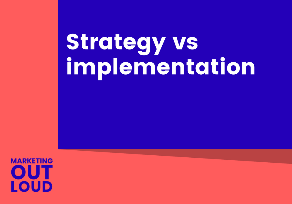 Strategy vs implementation