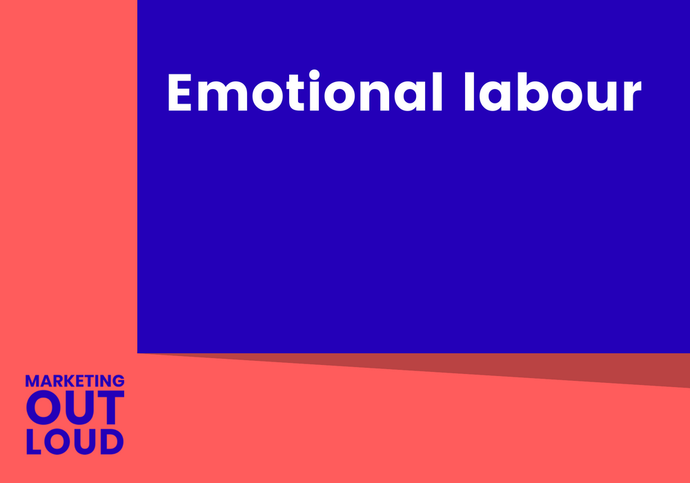 Emotional labour