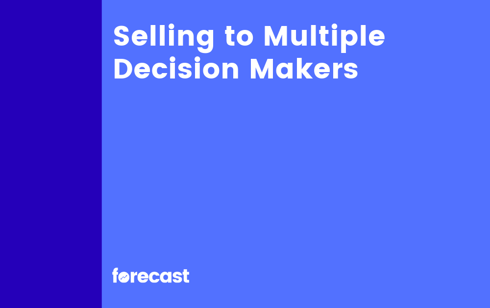 Selling to Multiple Decision Makers