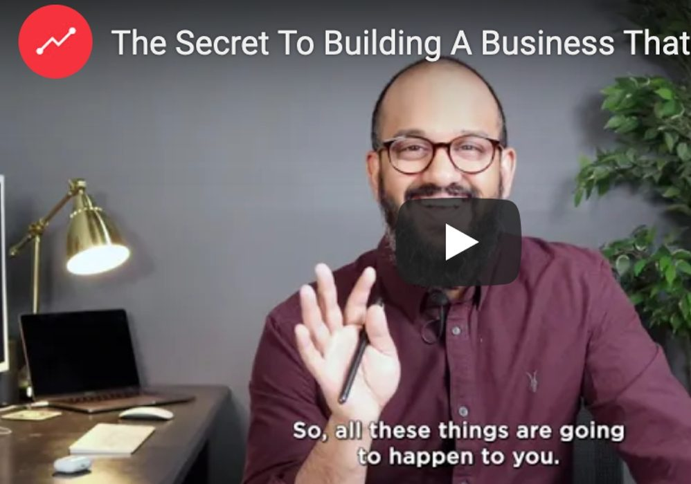 The Secret To Building A Business That Lasts